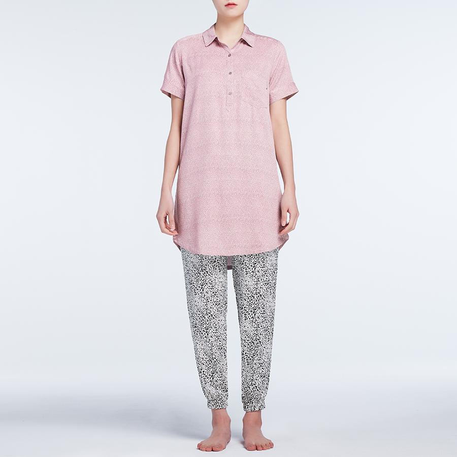 캘빈클라인 언더웨어(CALVIN KLEIN UNDERWEAR) 여 QS6133 ARZ 누드핑크 나이트셔츠