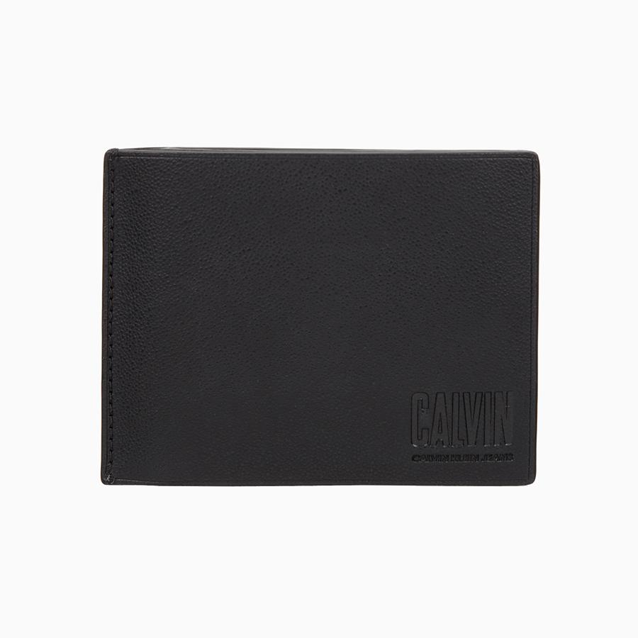캘빈클라인 진(CALVIN KLEIN JEANS) HP1380 001 블랙 슬림 캘빈 빌폴드 지갑