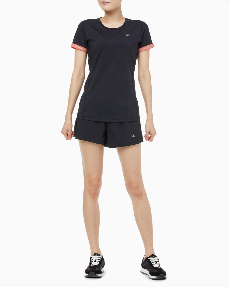 캘빈클라인 퍼포먼스(CALVIN KLEIN PERFORMANCE) 여성 쿨코어 반팔 티셔츠_4WS0K143_007