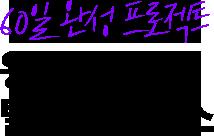 60일 완성 프로젝트 왕초보 탈출 프리패스