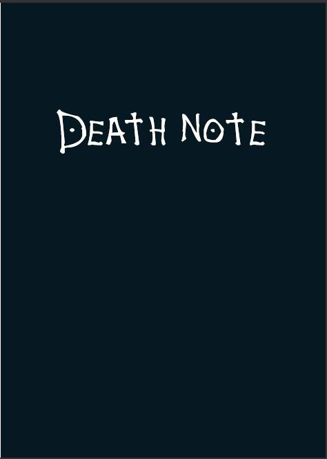 2017 김일영사회 데스노트 [DEATH NOTE]