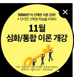 11월 심회/통합 이론 특강