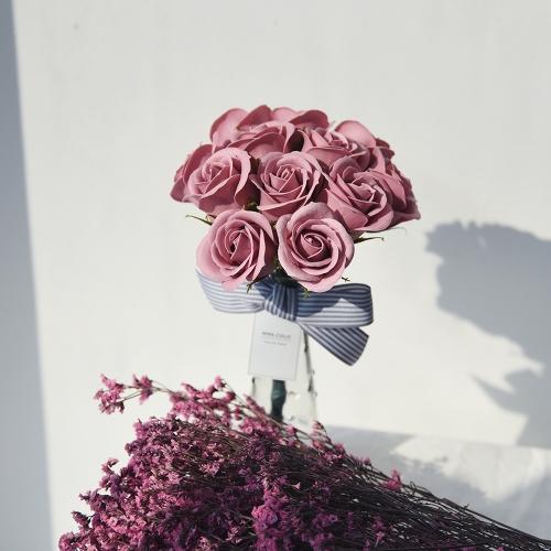 봄의 향연 향기나는 비누꽃 화병세트