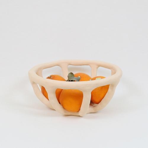 세라믹 소쿠리 과일 바구니(원형)
