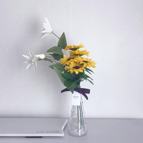 금전운&행운이 가득한 우리집 해바라기 비누꽃 화병세트