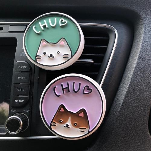 Chu 고양이 석고방향제
