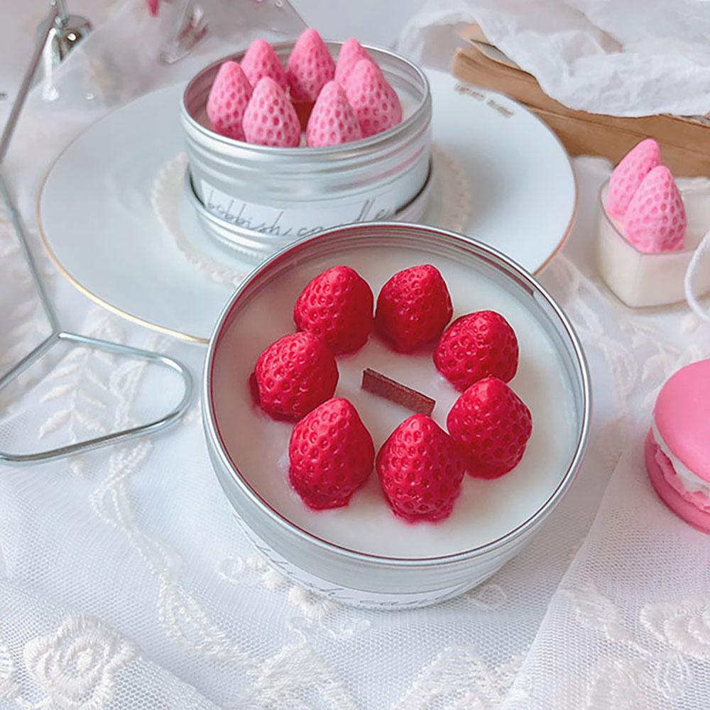 딸기 틴케이스 캔들 [일시품절]