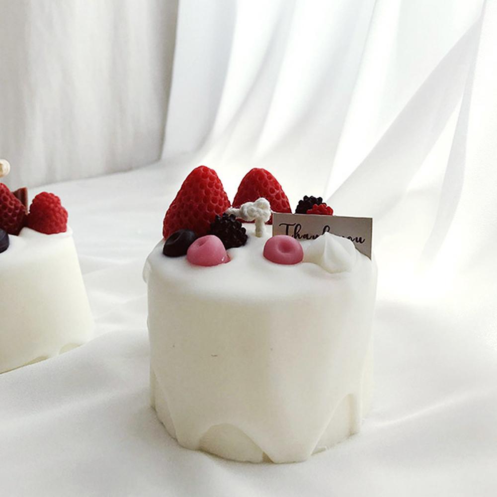 베리 메세지 케이크 캔들
