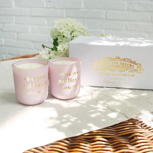 비아케이 오렌지향 컨테이너캔들 향초선물세트 집들이선물