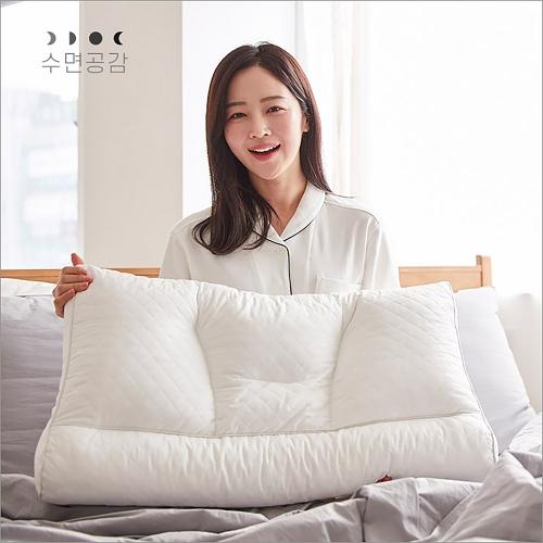 수면공감 라텍스 기능성 우유베개 [일시품절]