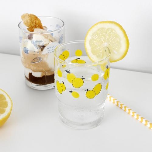 레몬과 소라 ANF 유리컵