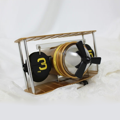 에어플레인 탁상 플립시계
