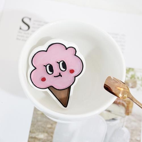 팝콘 아이스크림 차량용 석고방향제
