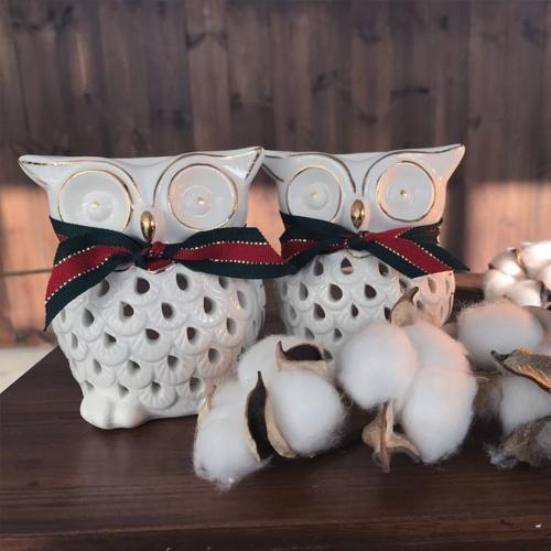 부엉이 천연 아로마 램프 크리스마스 에디션