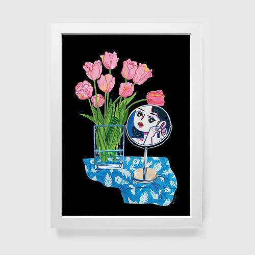 이어링 (Art Print) / 일러스트 액자