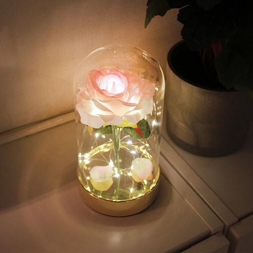 골드쁘띠 로즈돔 LED무드등 LED간접조명 신생아수유등