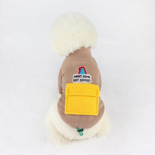 알래스카 크루 포켓 후리스 자켓