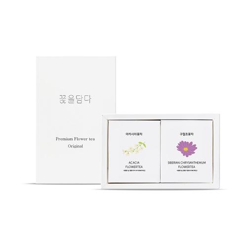 여성에게 좋은 꽃차 2종[구절초/아카시아]+쇼핑백