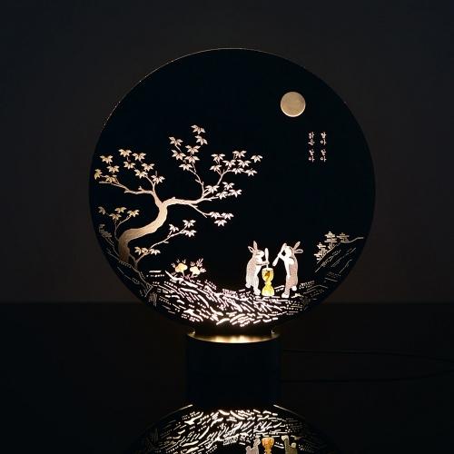 달빛 이야기 아크릴 LED무드등 LED간접조명 신생아수유등