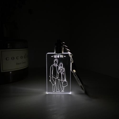 LED 일러스트 드로잉 키링