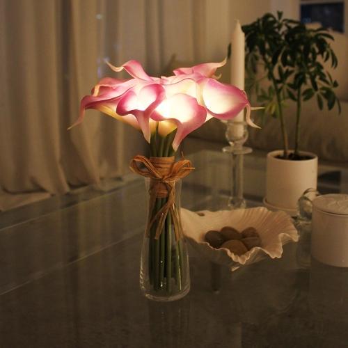 퍼플 카라부케 예쁜 LED무드등 LED간접조명