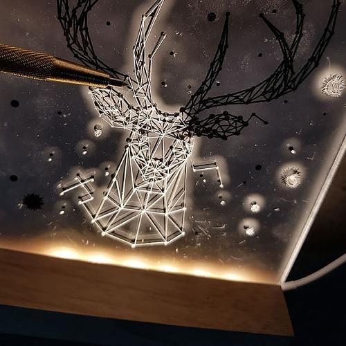 아크릴 LED무드등 LED간접조명 DIY세트