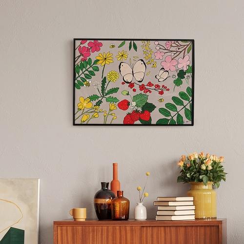 봄에 태어나는 것들 (Art Print) / 일러스트 액자