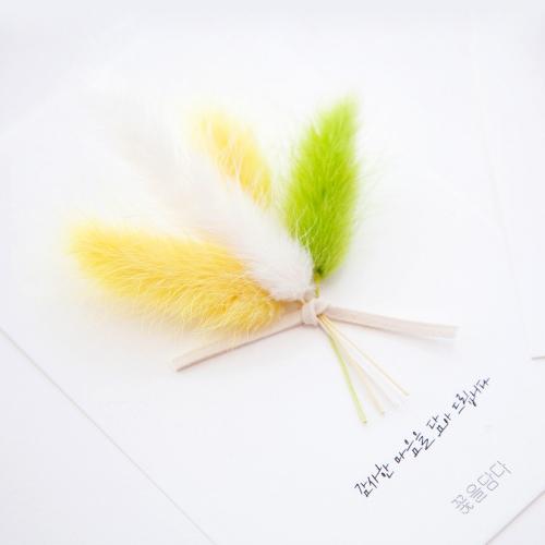 꽃편지 라그라스 엽서