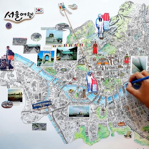 서울맵 시리즈 4종 (S-map)