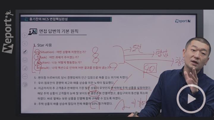 [최신] 2019 홍기찬의 NCS 면접핵심완성 (기초+case분석+실전)
