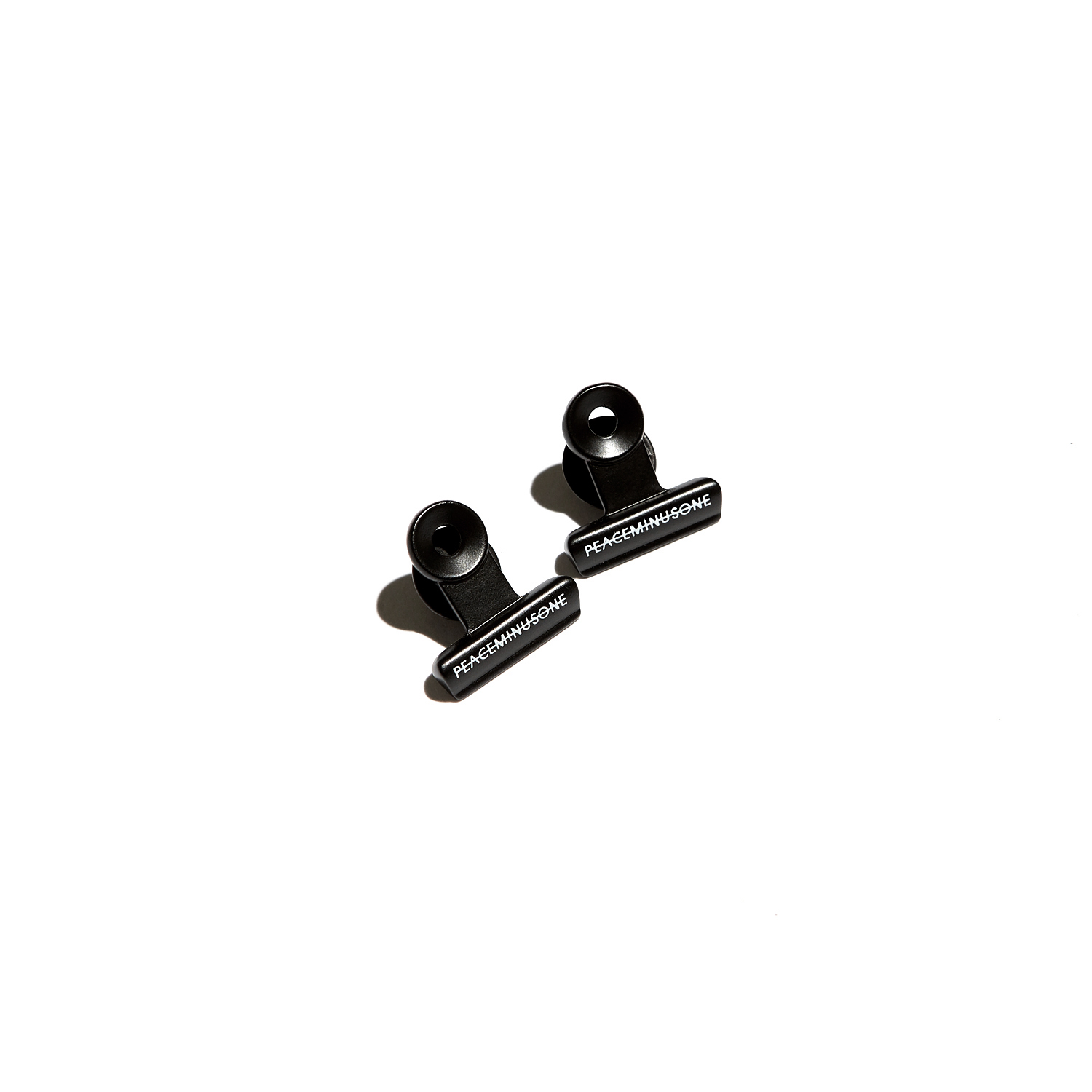 PMO BULLDOG CLIP PIN SET #1 BLACK