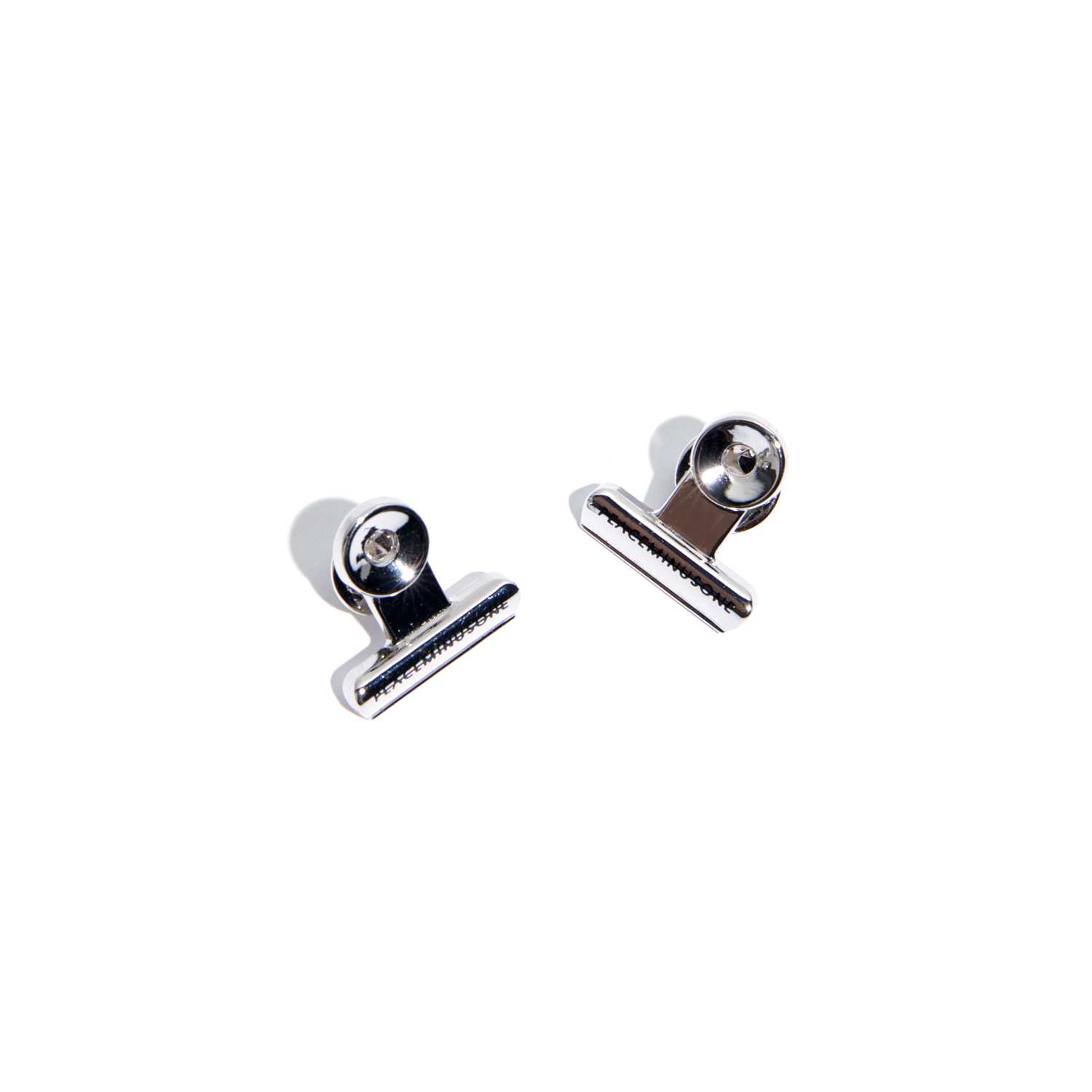 PMO BULLDOG CLIP PIN SET #1 SILVER