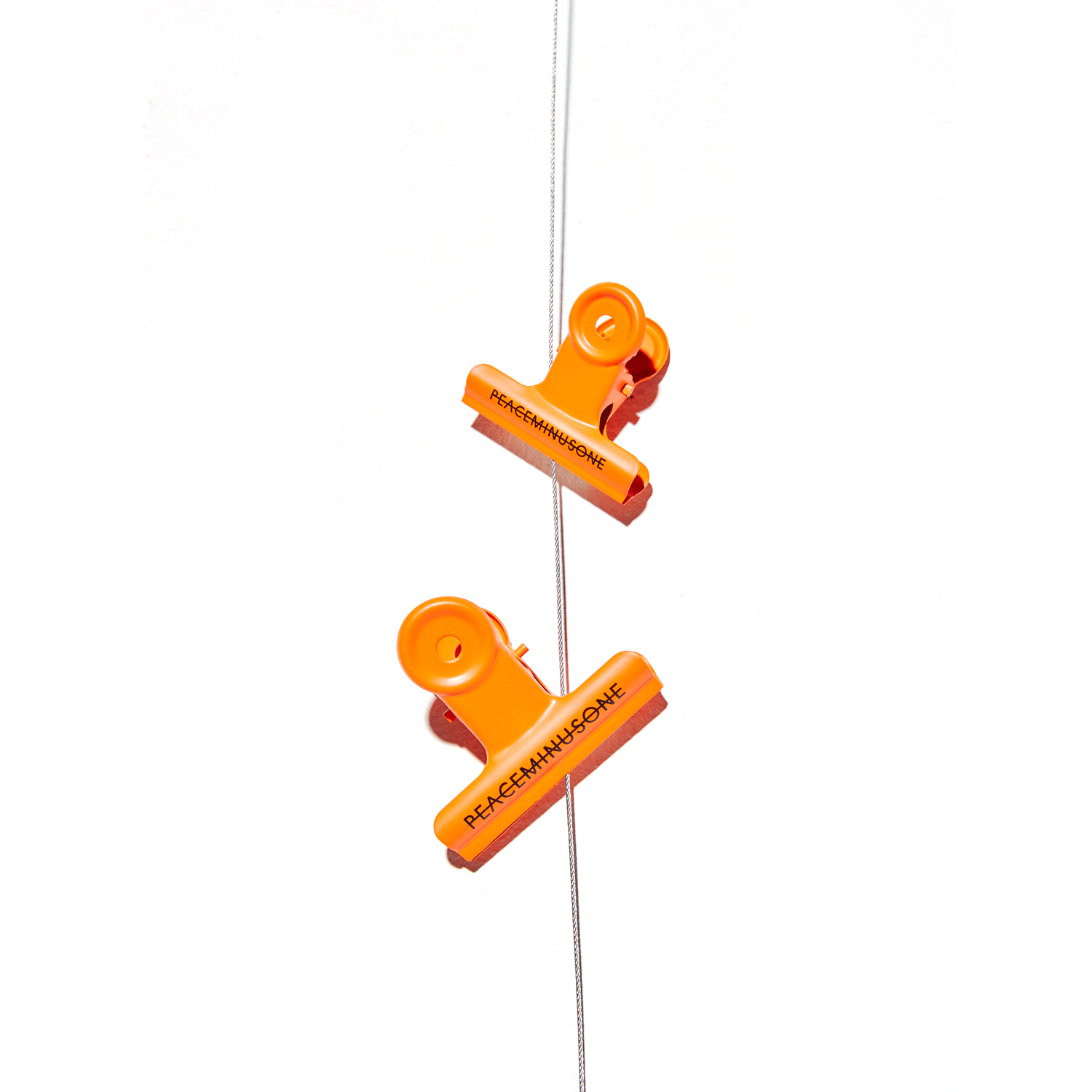 PMO BULLDOG CLIP #9 ORANGE