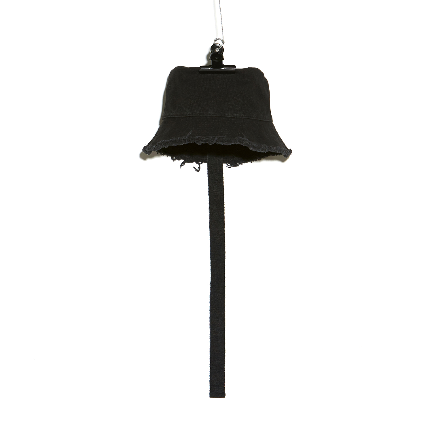 PMO CANVAS BUCKET HAT #1 BLACK