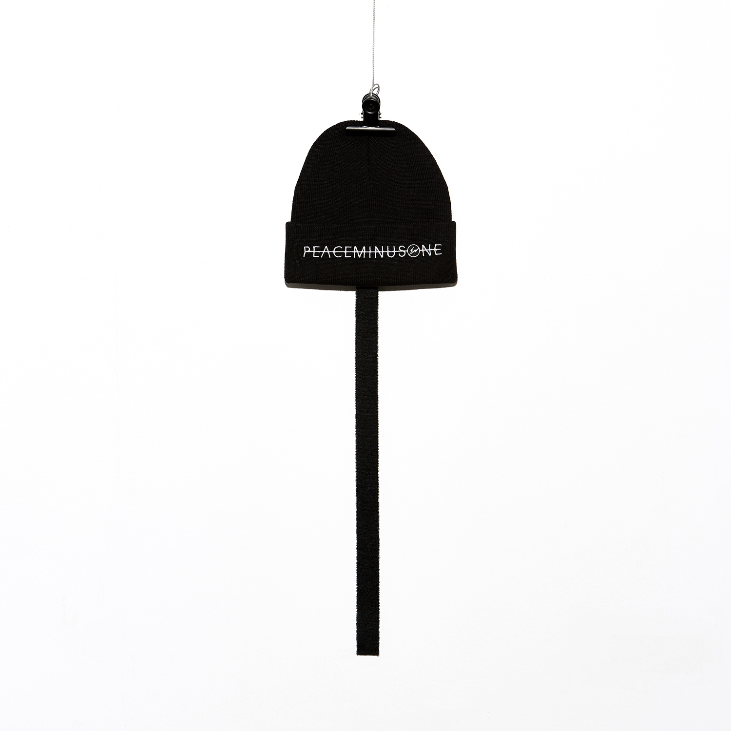 PEACEMINUSONE X FRAGMENT DESIGN. KNIT CAP #1