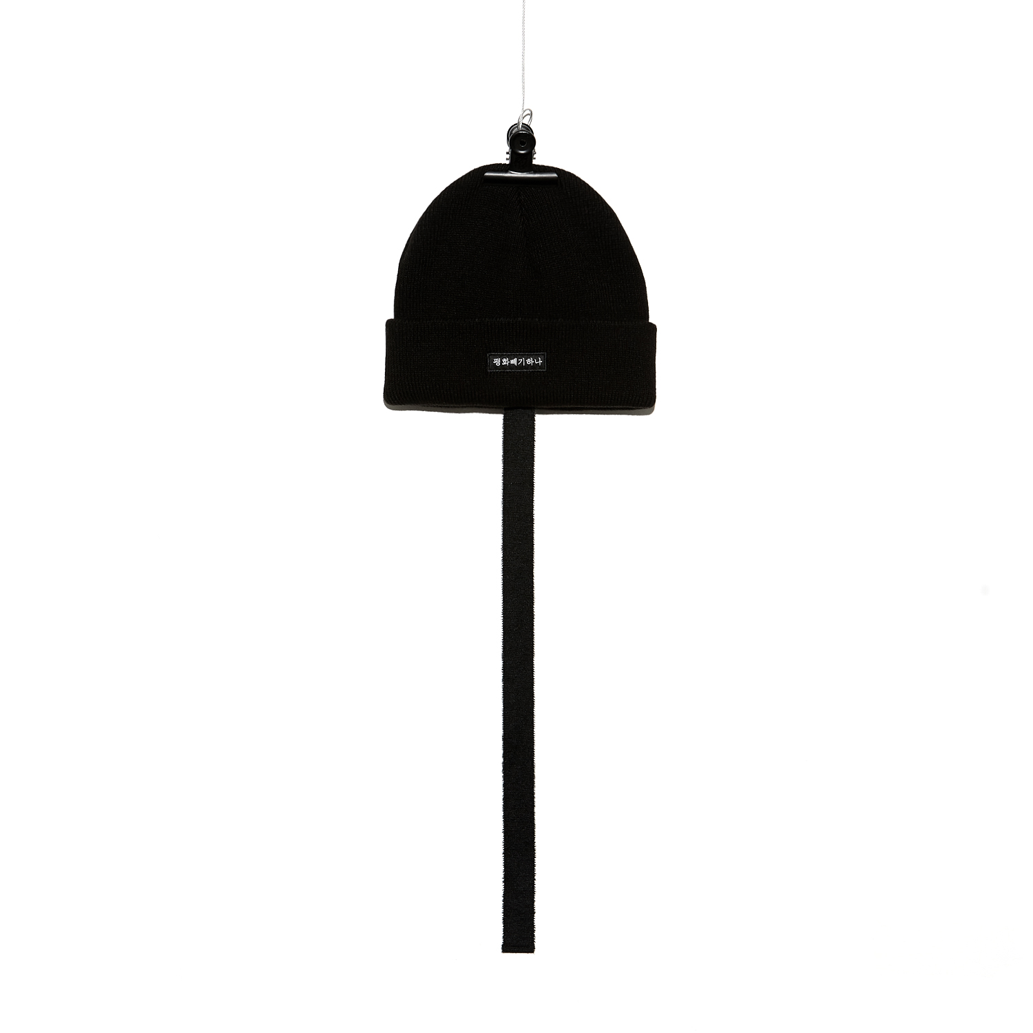 PMO KNIT CAP #4 BLACK