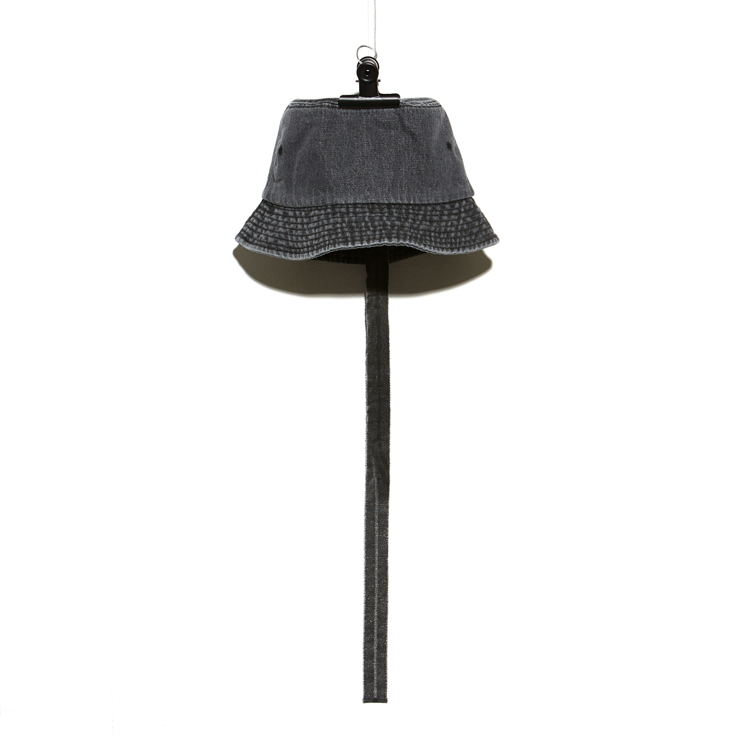 PMO DENIM BUCKET HAT #1 BLACK