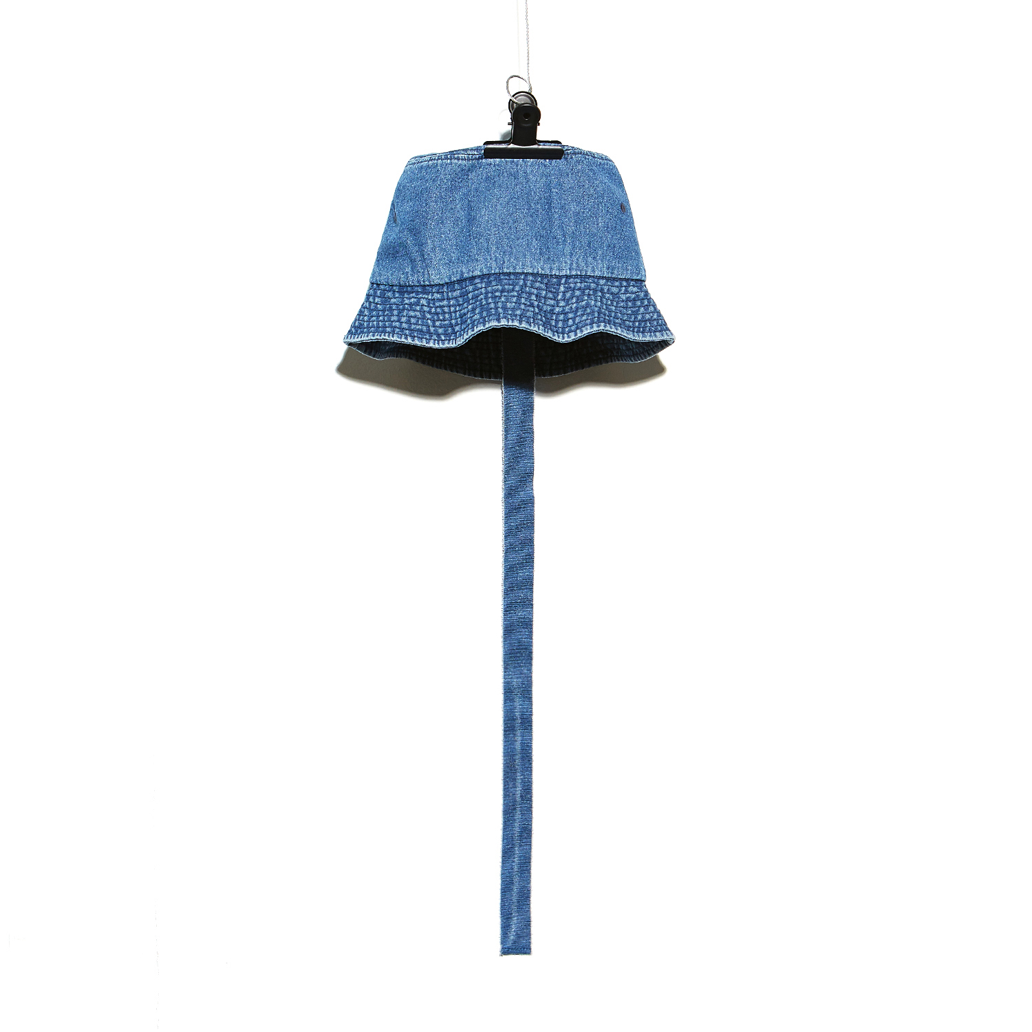 PMO DENIM BUCKET HAT #1 BLUE