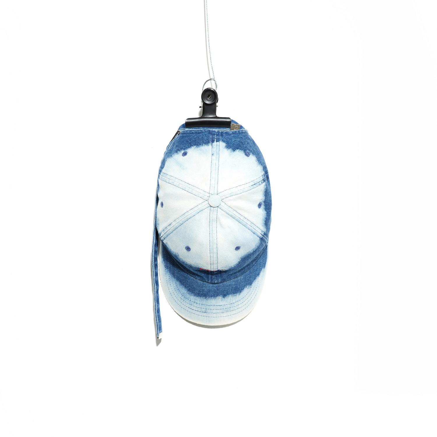 PMO DENIM BLEACH CAP #BLUE