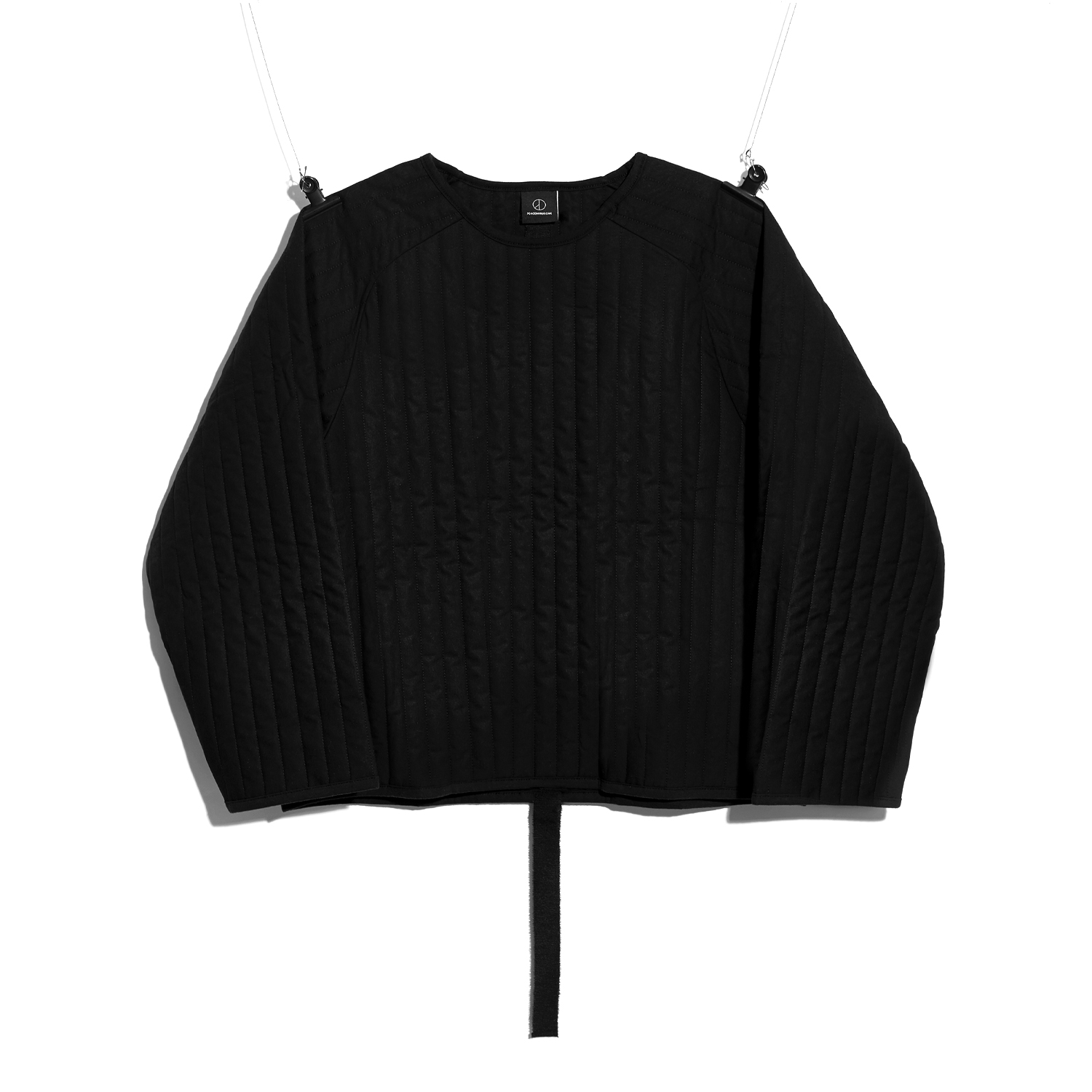 PMO PADDED PULLOVER #1 BLACK
