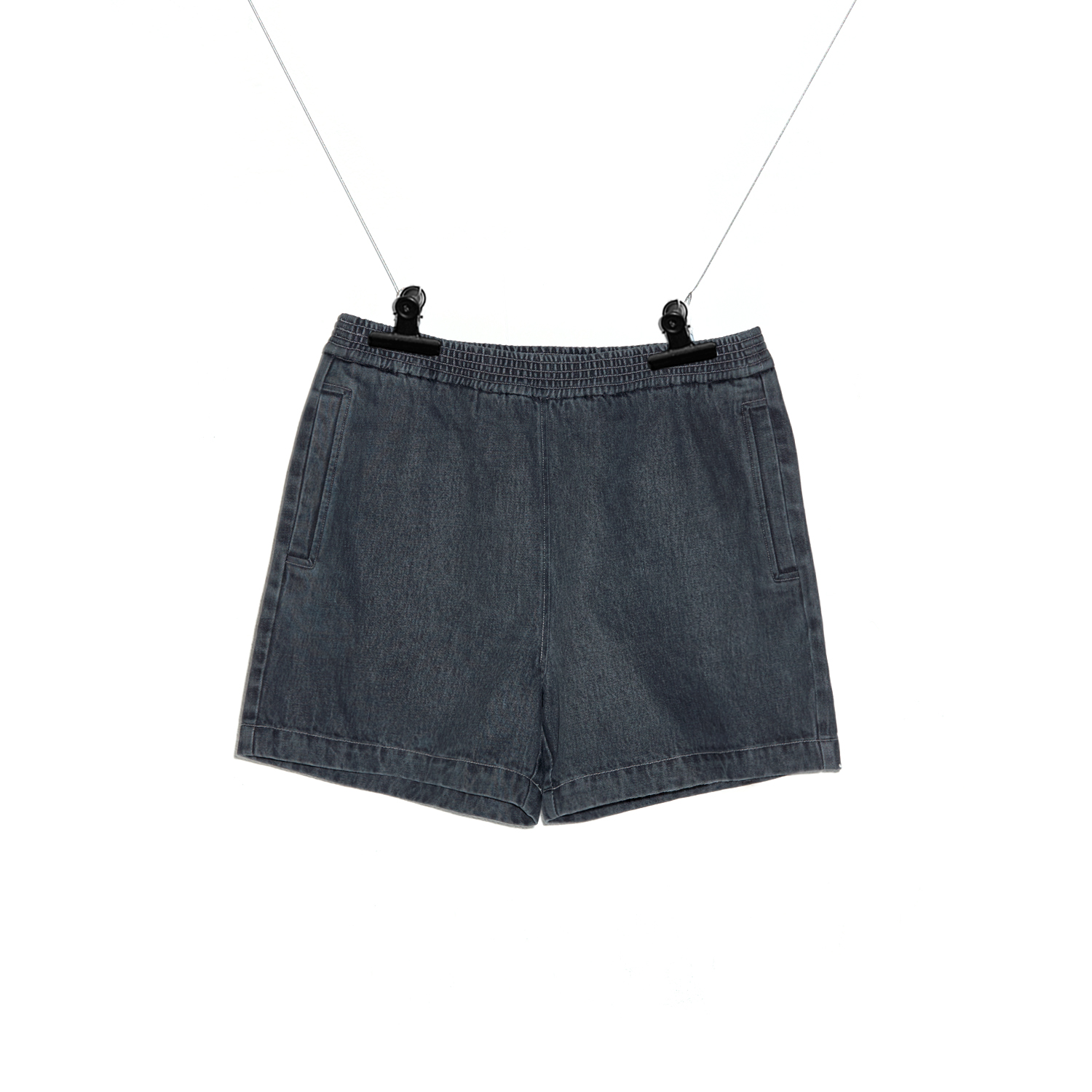 PMO DENIM SHORTS #1 BLACK