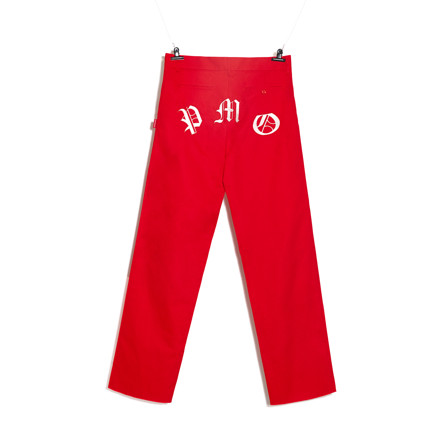 PMO WORK PANTS #1 RED