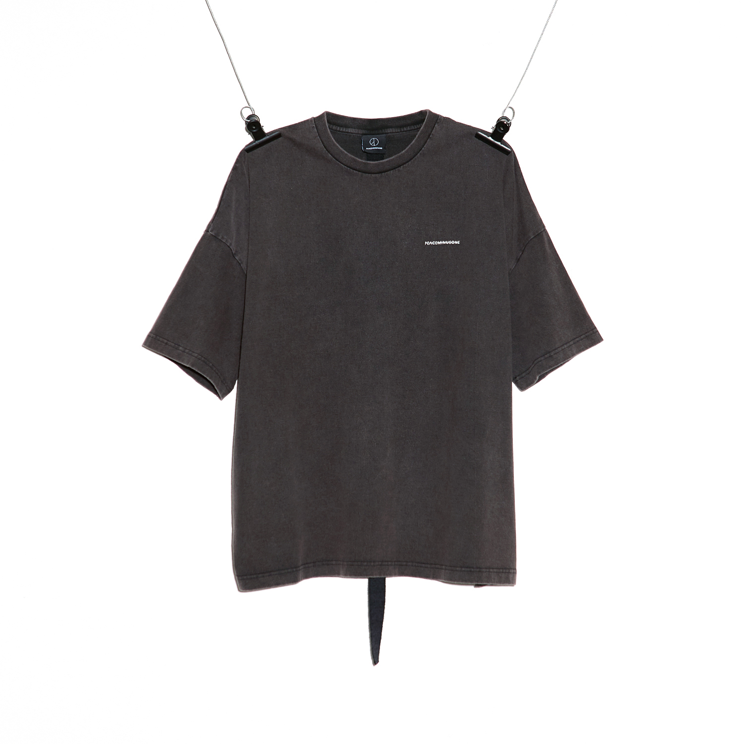 PMO VINTAGE T-SHIRT #1 CHARCOAL GREY