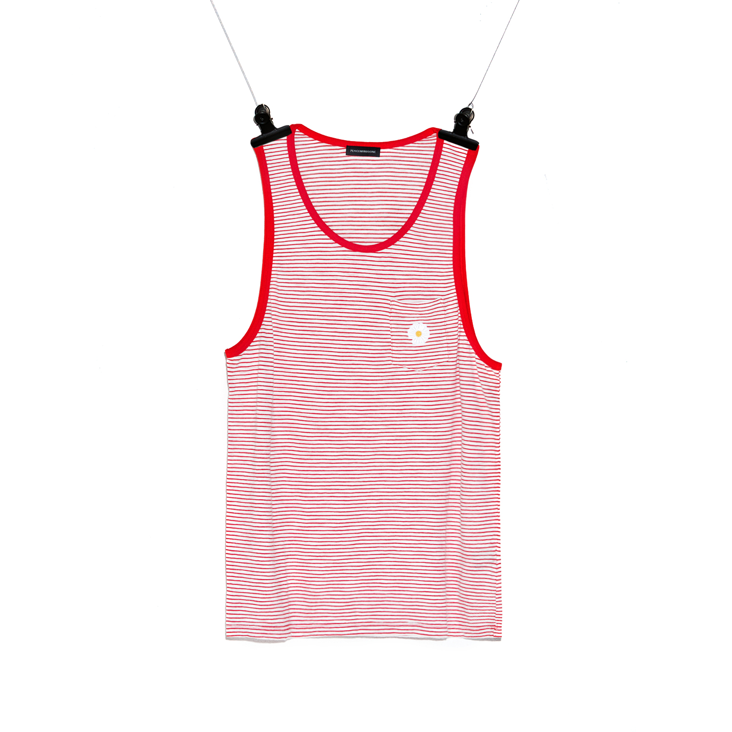 PMO TANK TOP #1 RED