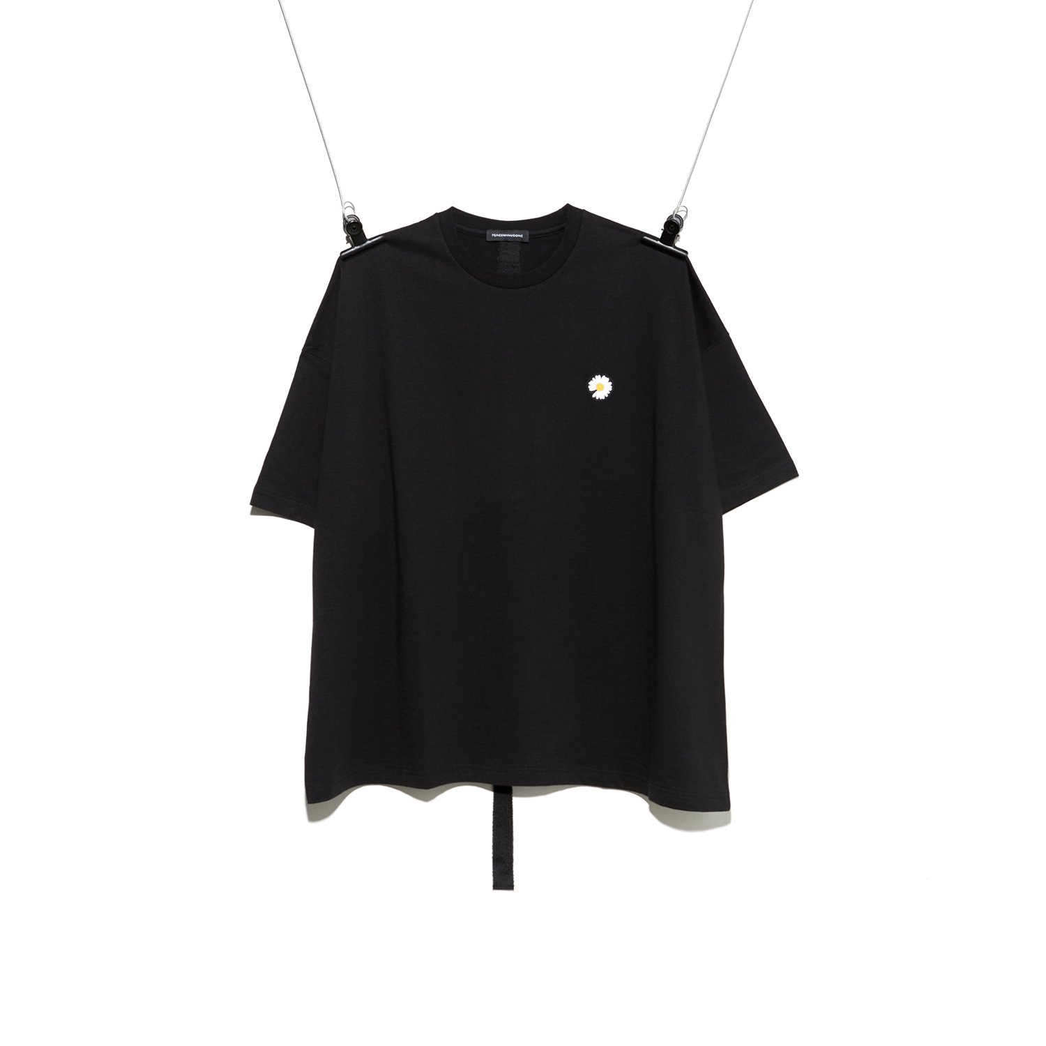 PMO DAISY T-SHIRT #BLACK