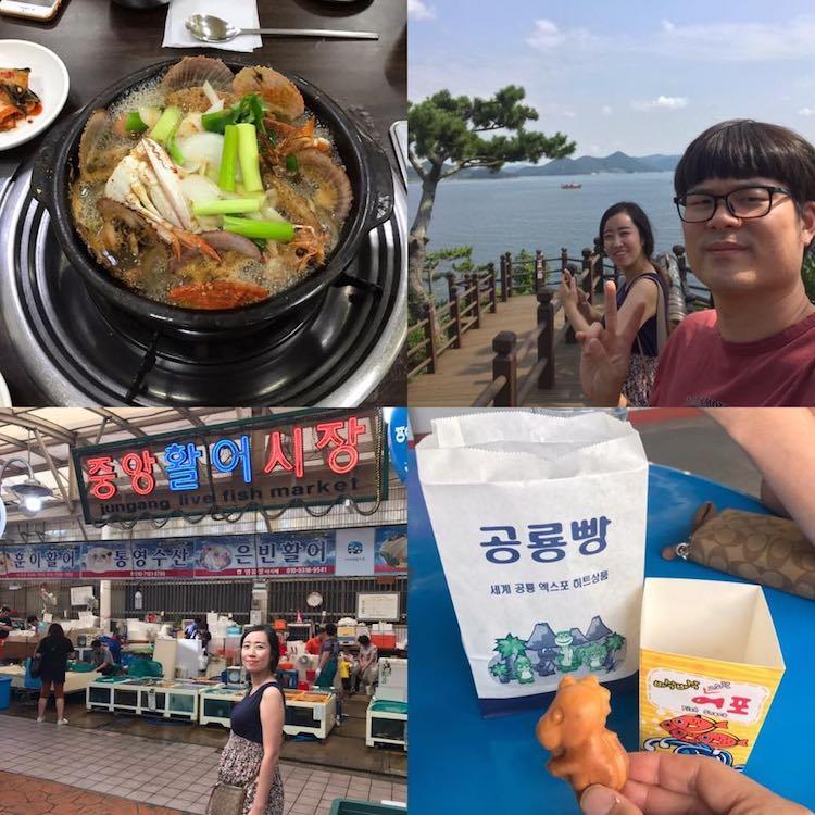 TongYeong South Korea Visit during our babymoon