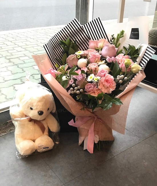 Korea Flower Bouquet Delivery
