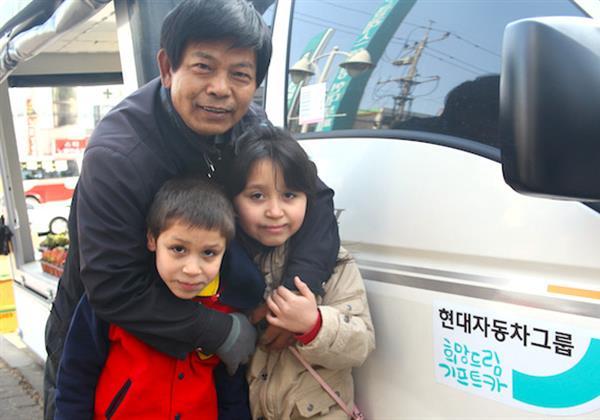 따뜻한 봄날을 맞이한 최세영 씨 가족 이야기