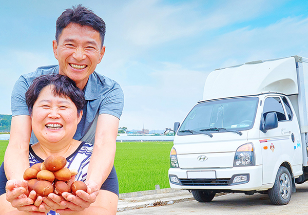 [박홍덕 님] 전국 곳곳에 최상의 버섯을 선보이기 위해 기프트카와 20,000km 이상을 함께했습니다