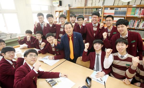 보인고등학교 김석한 이사장 인터뷰